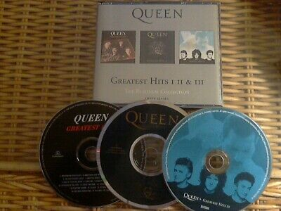 Queen Platinum Greatest Hits Collection I II & III (3 X CD) *** FATBOX ***