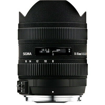 Sigma 8-16mm f/4.5-5.6 DC HSM Lens for Canon EF 203101