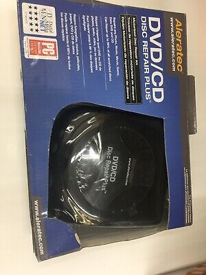 DVD CD Disc Scratch Repair and Cleaning Plus Kit
