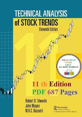 "📥 Technical Analysis of Stock Trends, 11 th Edition 2018 ""P.D.F"" 📥"