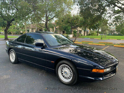 1997 BMW 8 Series 840Ci Coupe One Owner Low Miles Garage Kept Clean Carfax Dealer Serviced Collector's Item