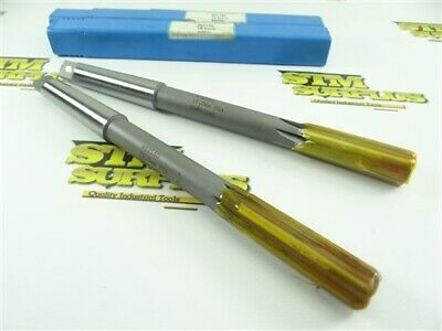 New! Pair Of Hannibal Carbide Tipped 2Mt Chucking Reamers 16.0Mm