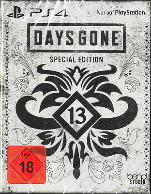 Days Gone Steelbook Special Edition - PlayStation 4/PS4 - Neu & OVP Dt. Version