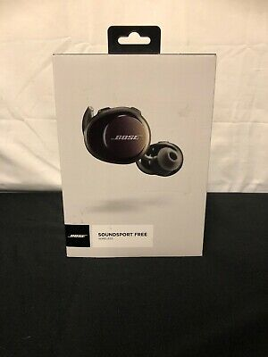 Bose SoundSport Free Wireless In-Ear Headphones Black Refurbished