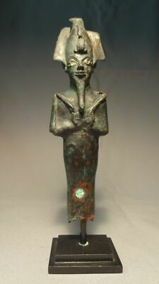 Ancient Bronze Figure of Osiris Late Dynasty ca: 1070-332 BC- Egypt