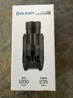 OLIGHT PL-2RL BALDR 1200 Lumen LED Plus Red Laser Weapon Light New