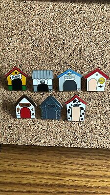 Disney DOGHOUSES Hidden Mickey full set of 7 Pins 2019 Wave C Dog Houses