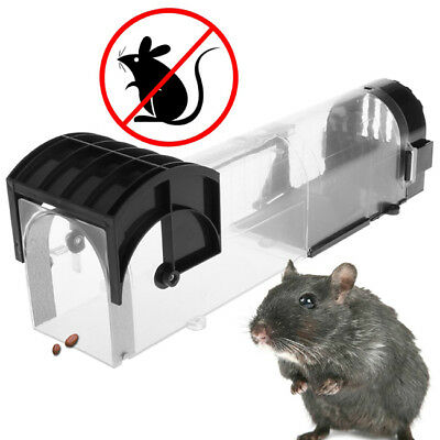 Humane Mouse Trap Mice Catcher Live Catch Release Cage NO Kill Reusable Rat YW