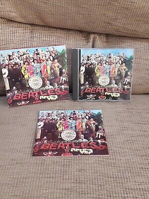 Beatles. Sgt Peppers Lonely Hearts Club Band. Cd.