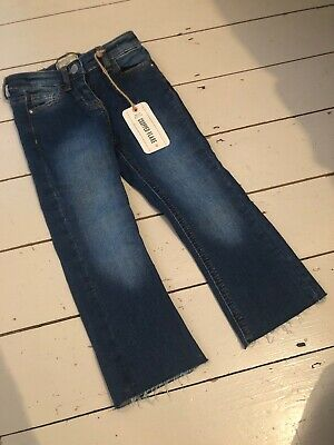 Next Girls Cropped Flared Jean Brand New Age 5 RRP £14