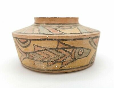 Ancient Indus Valley Terracotta Vessel With Fish  Motifs  - R418