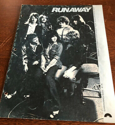Runaway Sheet Music Jefferson Starship