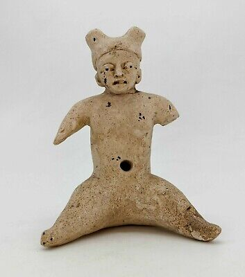Ancient Greek Hellenistic Terracotta  Of A Satyr R 348