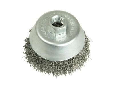 Cup Brush 100mm M14 x 0.35 Steel Wire LES426177