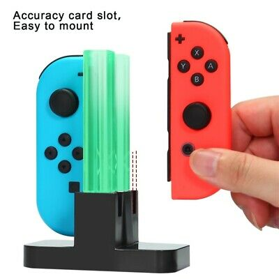 For Nintendo Switch Joy-Con Charges Dock Controller Charging LED Stand Charger