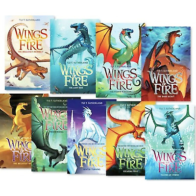 🔥 ⚡ tui t sutherland wings of fire series 1-10 BY Venezuela  ⚡🔥 FAST DELIVERY