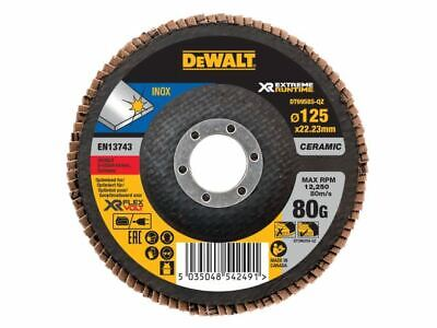 FlexVolt XR Flap Disc 125mm 80G DEWDT99585QZ