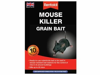 Mouse Killer Grain Bait 10 Sachets RKLPSM22