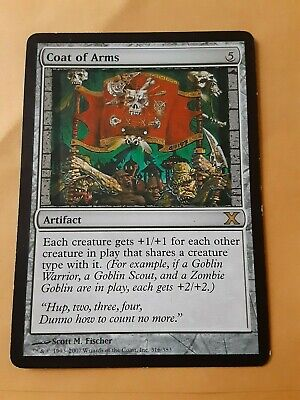 Coat of Arms MTG Magic The Gathering LP/MP 10th Edition