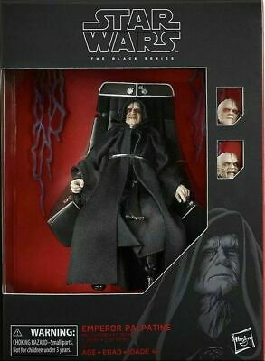Star Wars The Black Series Emperor Palpatine Figure w/ Throne (Amazon Exclusive)