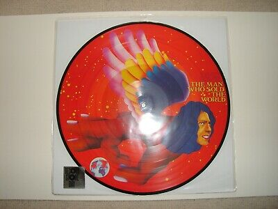 David Bowie - The Man Who Sold The World Picture Disc Lp - Rsd - Mint & Sealed