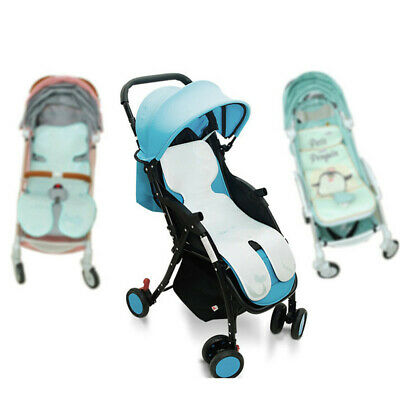 Summer Baby Infant Stroller Car Seat Pad Pram Highchair Cool Icy Silky Liner DB