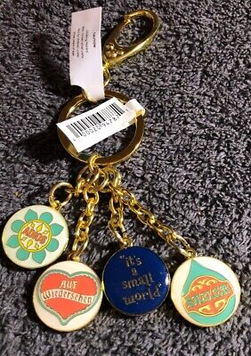 Disney Parks It's A Small World Dangle Keychain
