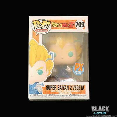 Funko Pop! Super Saiyan 2 Vegeta Dragon Ball Z PX Previews (Chase) IN STOCK Pop