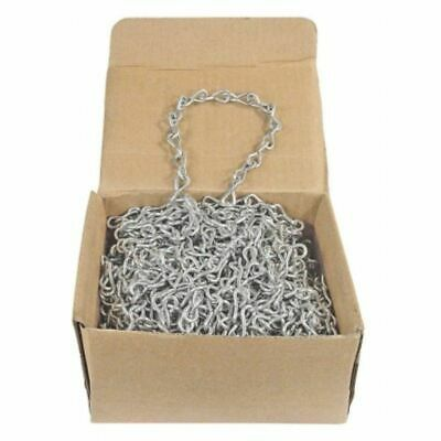 #14 X 100' Single Jack Chain Stainless Steel  Wll 16 Lbs.