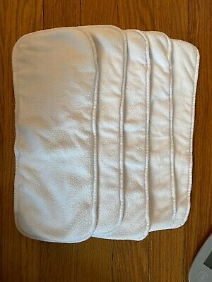 GDiaper Cloth Inserts - Set Of 5, Size M/L/XL - Lot 2