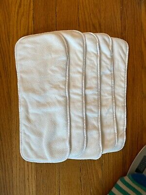 GDiaper Cloth Inserts - Set Of 5, Size M/L/XL - Lot 4