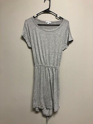 Moa Moa NEW Gray Spring Summer Size Small S Junior's Open Back Dress
