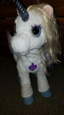 Furreal Friends Starlily My Magical Unicorn Interactive Toy.