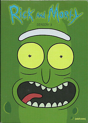 RICK & AND MORTY - The Complete 3rd Third Season 3 Three NEW DVD SET