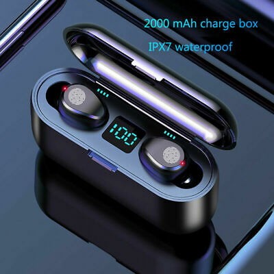 Bluetooth 5.0 Headset TWS Wireless Earphones Mini Earbuds Stereo Headphones A5