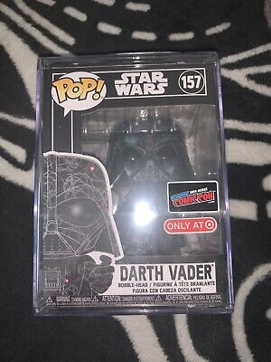 NYCC 2019 Entertainment Earth Exclusive STAR WARS DARTH VADER Funko Pop 157 MINT