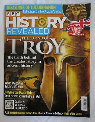 BBC History Revealed Magazine DECEMBER 2019 - Troy - Berlin Wall - World War