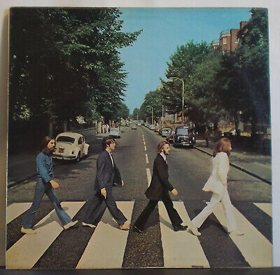 THE BEATLES Abbey Road - UK Stereo LP Apple PCS 7088 - John Lennon Ringo Starr