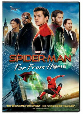 Spider-Man Far From Home NEW DVD 2019 *ACTION* SHIPPING NOW !