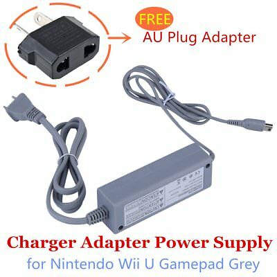 AU Home Wall Charger Adapter Power Supply for Nintendo Wii U Gamepad 0l