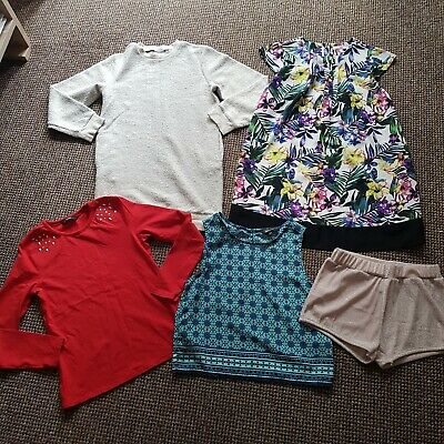 Lovely Girls Clothes Bundle Age 10-11 Years, NEW LOOK, M&S, MATALAN, GEORGE