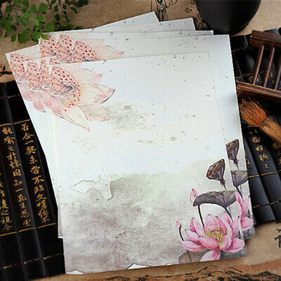 Chinese Style Retro Writing Paper Vintage Letter Paper Students Stationery CB
