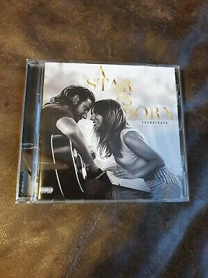 A Star is Born Soundtack By Lady Gaga and Bradley Cooper, CD,vgc 2018, Virgin