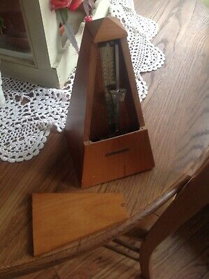 Vintage Seth Thomas Wind Up Metronome #10