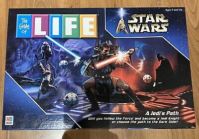 THE GAME OF LIFE Board Game STAR WARS Edition Complete A Jedis Path MB