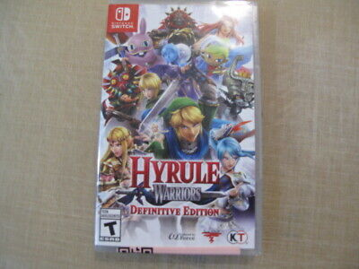 New Factory Sealed Nintendo Switch Hyrule Warriors Definitive Edition