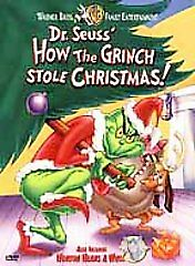 How the Grinch Stole Christmas DVD BRAND NEW SEALED + Horton Hears A Who