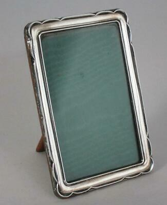 Beautiful Antique Art Deco Solid Sterling Silver Picture Photo Frame 1923