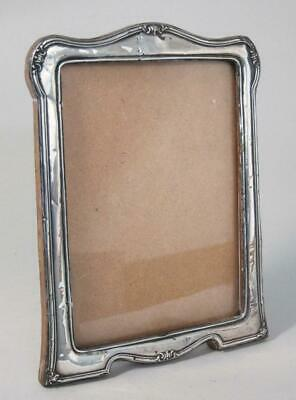 Beautiful Antique Art Deco Solid Sterling Silver Picture Photo Frame 1925