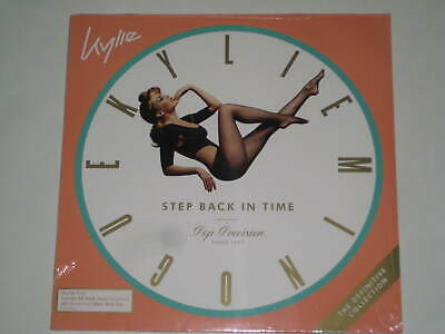 Kylie Minogue-Step Back In Time Definitive 2 X Vinyl Album Lp 2019 Greatest Hits